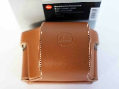 Leica Ever Ready Case 18779 Tan Leather Boxed Unused For X Typ-107 And X Vario