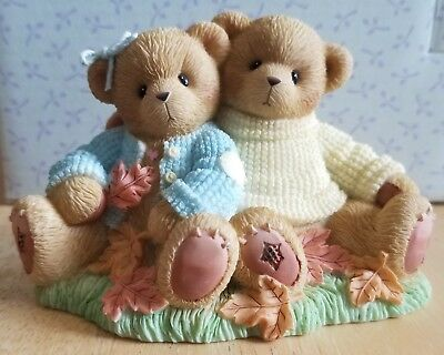 NEW Cherished Teddies - Canadian Exclusive - Riley & Jaclyn - 118820