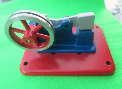 Mamod Model Power Hammer & Anvil Collectible Metal Steam Powered Box RARE.AS NEW