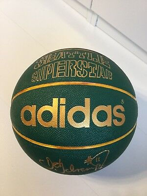 Seattle Superstar Adidas Detlef Schrempf Baskettball Neu