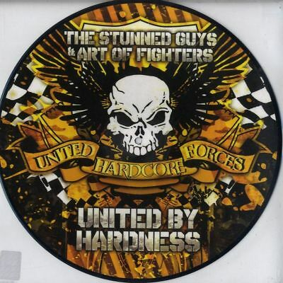 """12"""" Stunned Guys & Art Of Fighters United By Hardness Traxtorm Picture Disc *NEU"""