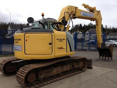 New Holland / Kobelco E135BSR Excavator - Workshop / Service Manual.