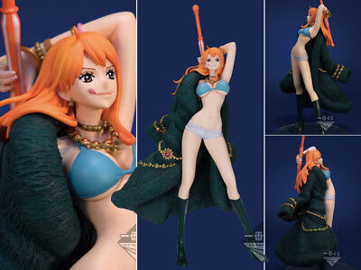 Collections Anime One Piece Figure Toy Nami Anniversary Figurine Statues 18cm wr