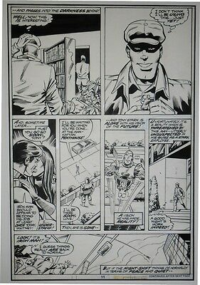 Iron Man #113 page 11 Original art Herb Trimpe Josef Rubinstein Marvel comics