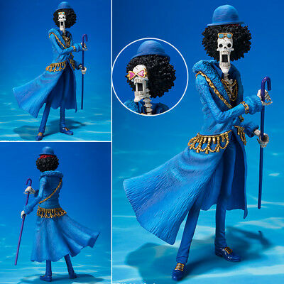 Collections Anime Figure Toy One Piece Brook Figurine Statues 21cm wr