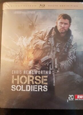 Horse Soldiers Blu Ray Steelbook