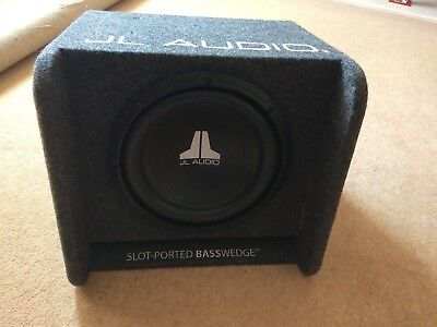 JL Audio Slot-ported bass wedge CP110