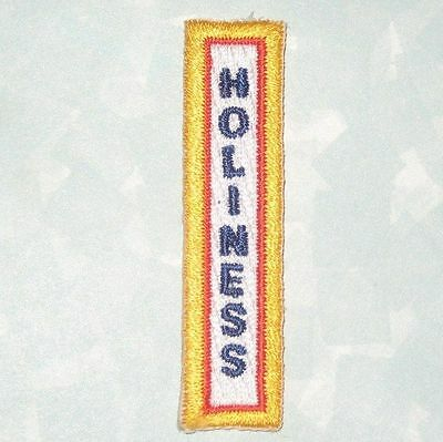 Holiness Patch