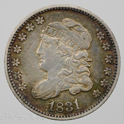1831 H10c Capped Bust Half Dime XF /W-080