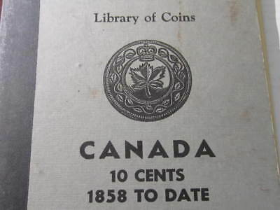 1902 to 1963 Canada 10 cent collection - 44 dimes - Rare Dates included