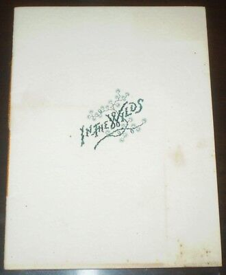 1890, The Mountain House, Cresson, Pa, Allegheny Mountains, Promotional Booklet