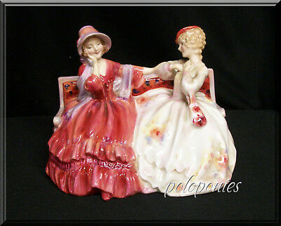 ROYAL DOULTON The Gossips Figurine HN2025 - Retired 1967