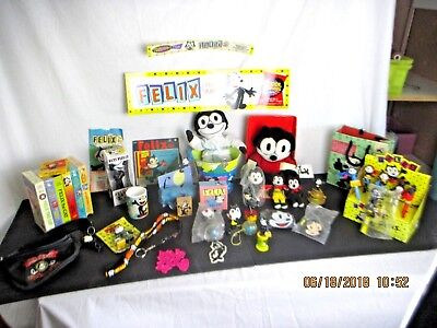 FELIX THE CAT FTC Collection Collectible Large Lot of (42) Items