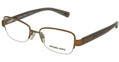 db24fc280a Authentic Michael Kors Eyeglasses Mitzi IV MK7008 1081 Brown Frames 51MM  Rx-ABLE