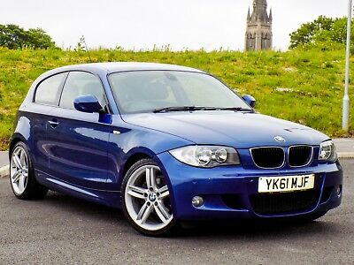 """Bmw 1 Series 118D M Sport 3Dr 2011My With Fsh+18""""Wheels+Pdc+Genuine Example 120D"""