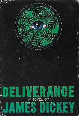 JAMES DICKEY - DELIVERANCE - SIGNED, INSCRIBED FIRST EDITION & PRINTING 1970 hc