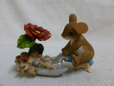 Charming Tails Bloom Wherever You're Planted 4043861 Shovel New In Box