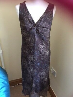 Mothercare floral summer dress size 12 VGC maternity hardly worn maxi wedding M