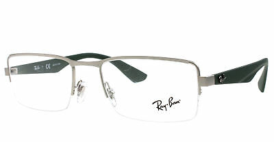 a0a70e0c0e AUTHENTIC RAY BAN Eyeglasses RB7043 5468 Semi Gloss Red 52mm Rx-ABLE ...