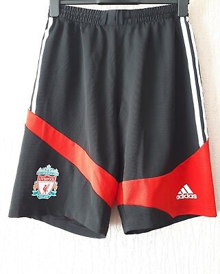 L.f.c. Football Shorts Black And Red Size 34