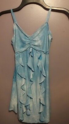 Wolff Fording & Company Small Leotard Girl's Dance Costume Blue A144