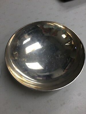 TIFFANY & CO MAKERS STERLING SILVER 14.8 oz BOWL