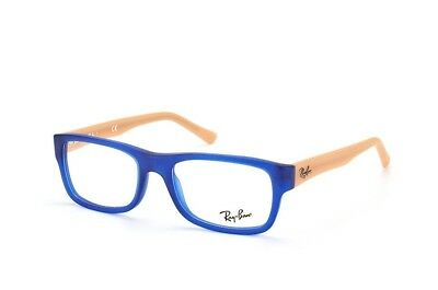 06dcc28a20f Authentic Ray Ban Eyeglasses RB 5268 5554 Blue Square Frames RX-ABLE 48mm