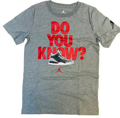 bb5e86d94f69 NIKE AIR JORDAN Big Boys 8-20 Short Sleeve Tee Shirt -  15.99