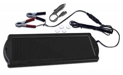 Visua Solar Powered Battery Charger. Ideal for Cars, Caravans and Boats (1.5 Wat