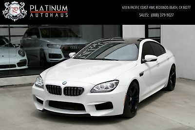 M6 Gran Coupe ** Competition Package ** White BMW M6 with 41,379 Miles available now!