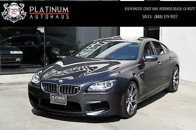 M6 Gran Coupe ** Competition Pkg ** 2015 BMW M6, Gray with 32,208 Miles available now!