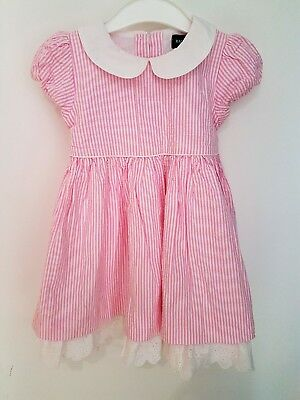 Genuine Ralph Lauren Girls Summer Party Dress with Bloomer Pants 18-24 Months