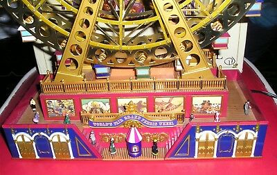 Mr. Christmas Gold Label World's Fair Grand Ferris Wheel Local Pick Up Only!