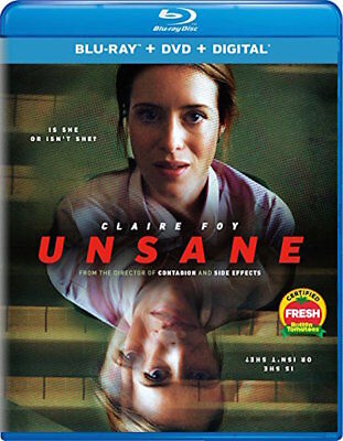 Unsane - [Blu-Ray/Dvd Combo Pack] - New Unopened - Claire Foy
