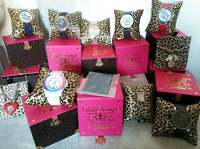 JOB LOT WHOLESALE 10 LADIES/GIRLS PAULS BOUTIQUE Watches Rrp £400 Designer look
