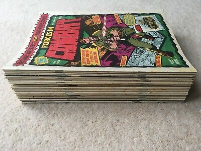 Marvel Forces In Combat - Full Set - #1-37 - 1980/1981