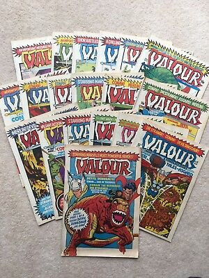 Marvel Valour - Full Set - #1-19 - 1980/1981