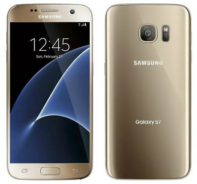 Samsung Galaxy S7 SM-G930T 32GB Gold Smartphone for T-Mobile / Metropcs - NEW