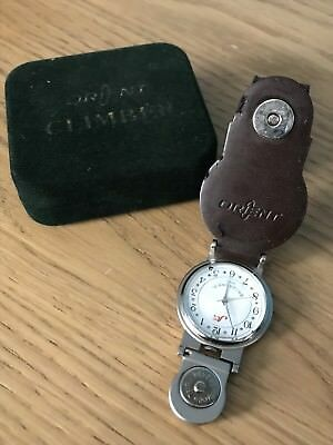 Cool Vintage Orient Golf Club China Belt Watch Golf Golfers Leather Excellent