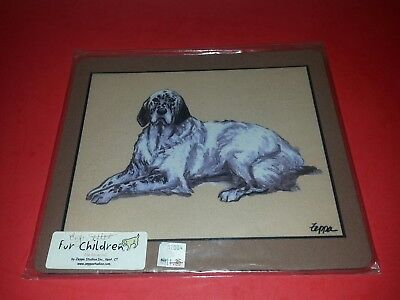 Fur Children Zeppa Studios English Setter Dog Mouse Pad NEW