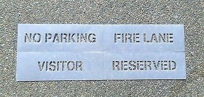 "3"" ""4 Piece Parking Lot Stencil Kit"""
