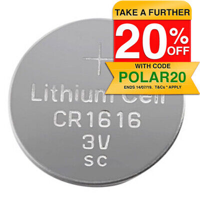 1PC CR1616 3V Lithium Battery Button Coin For Watch/Calculator - Made in Japan