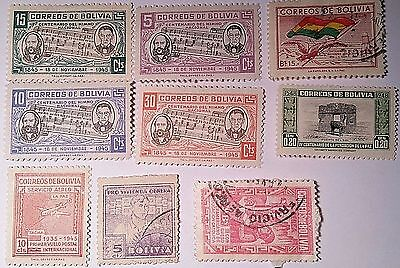 Bolivia Stamps Scu319Pw...worldwide   Stamps