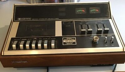 Toshiba PT-470 Stereo Cassette Deck Music Quick Selector