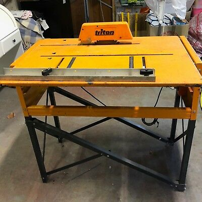 Triton Workcentre Mark 3 with Stand and GMC Saw