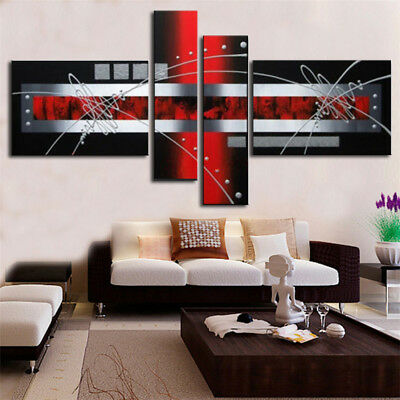 100%Hand-painted Modern Line Abstract Oil Painting On Canvas Wall Art Decoration