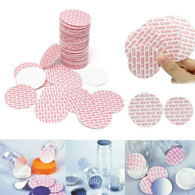 20/24/28/38mm 100pcs Press Seal Cap Liners Foam Safety Tamper Seals Jar Bottle