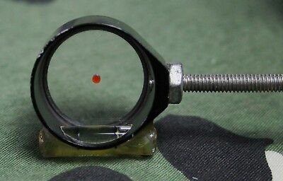 Archery Scope Sight, 4x with bubble level target field 3D shooting