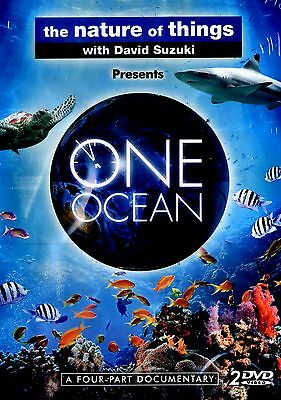 NEW 2DVD SET // DAVID SUZUKI// One Ocean  // 4 PART DOCUMENTARY/NATURE OF THINGS
