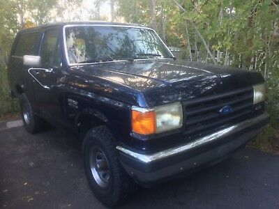 1989 Ford Bronco  1989 Ford Bronco 4WD